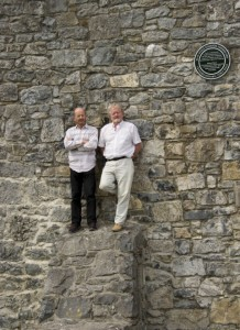 Backs to the Wall guides, Colm and Terry